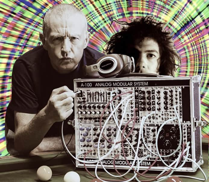 steve davis and kavus torabi at Krankenhaus festival